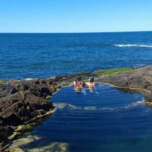 Playa en Bahia Bustamante