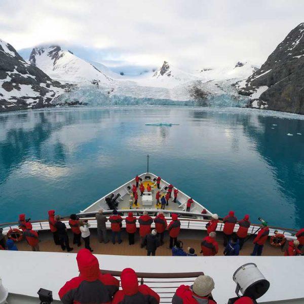Crucero a la Antartida