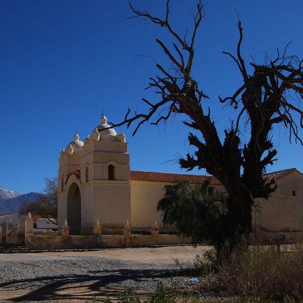 Iglesia en el norte de argentina