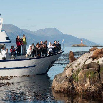 Visita en Barco Ushuaia