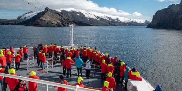 Crucero a la Antartida (Hurtigruten)