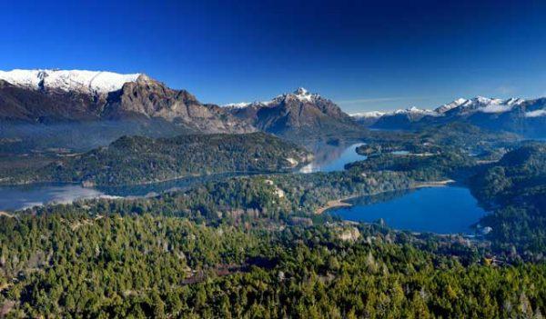 Ansicht von Cerro Campanario in Bariloche