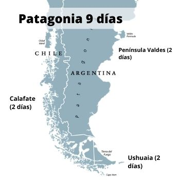 9 days in Patagonia